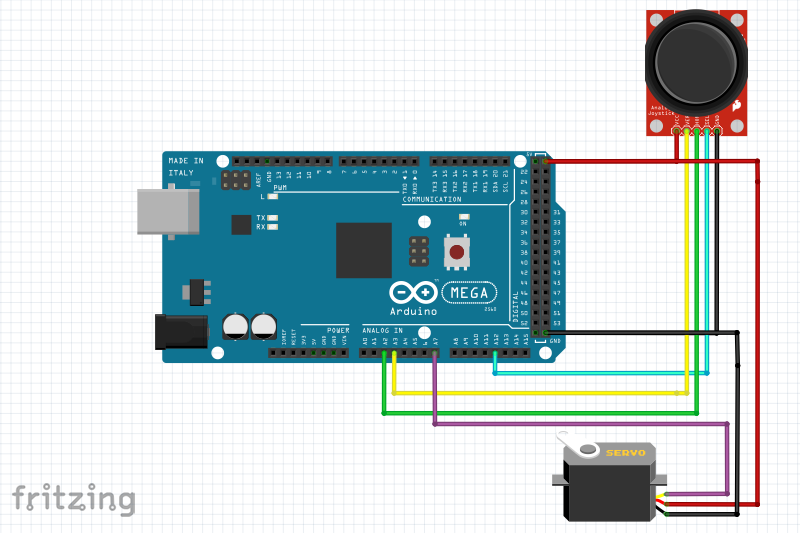 Arduino mega ozturkgokhan for How to control servo motor